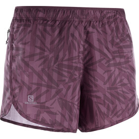 Salomon Agile Shorts Dame wine tasting